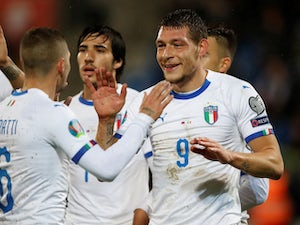 Italy qualify for Euro 2020 thanks to Andrea Belotti brace