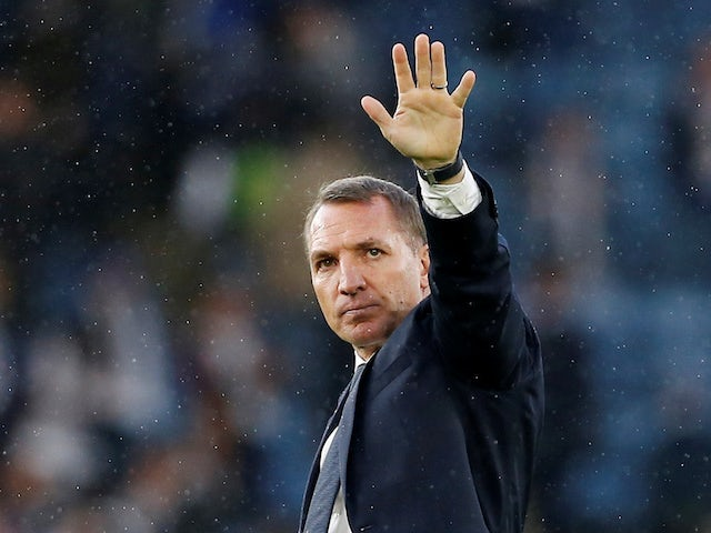 Brendan Rodgers plays down Leicester's lofty league position