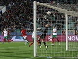 England's Marcus Rashford scores against Bulgaria in their Euro 2020 qualifier on October 14, 2019