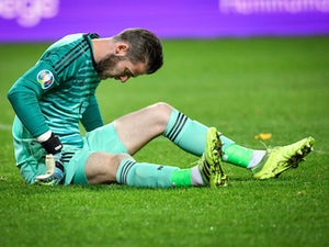 Robert Moreno confirms David de Gea injured during Spain's draw with Sweden