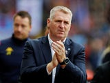 Aston Villa manager Dean Smith on October 19, 2019