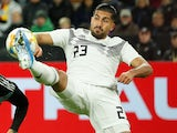 Emre Can in action for Germany on October 9, 2019