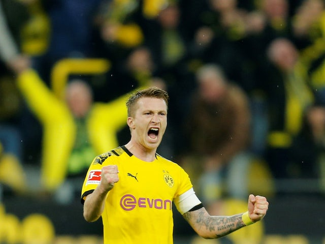 Result: Marco Reus scores again as Dortmund win Borussia derby