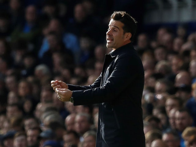 Everton manager Marco Silva on October 19, 2019