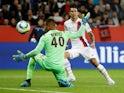 Angel Di Maria scores for Paris Saint-Germain against Nice on October 18, 2019