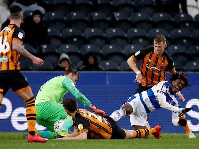 Result: Ebere Eze's penalty double helps QPR past Hull