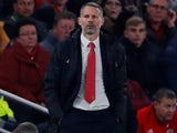 Wales manager Ryan Giggs on October 13, 2019