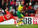 Teemu Pukki in action for Norwich City on October 19, 2019