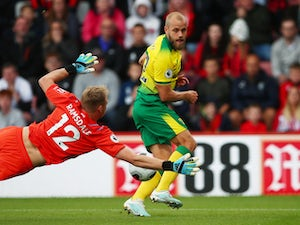 Norwich hold Bournemouth to goalless draw for first away point