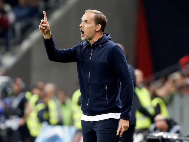 PSG boss Thomas Tuchel on October 18, 2019