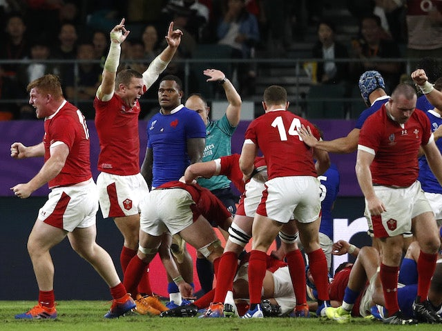 Rugby World Cup day 31: Wales, South Africa make semi-finals