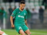William Saliba in action for Saint-Etienne on October 3, 2019