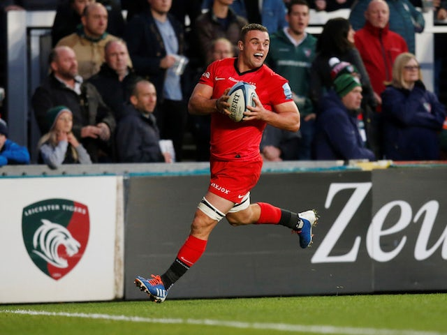 Result: Saracens up and running with victory over Leicester Tigers