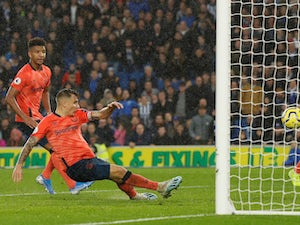 Late Lucas Digne own goal gifts Brighton win over Everton