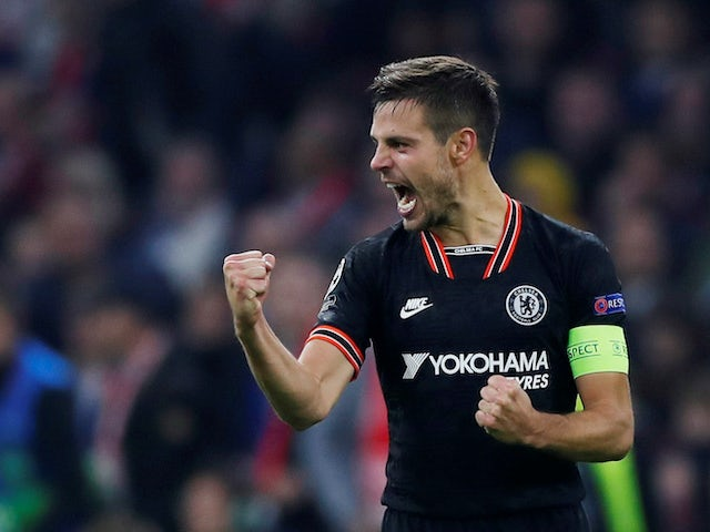 Cesar Azpilicueta in action for Chelsea on October 23, 2019