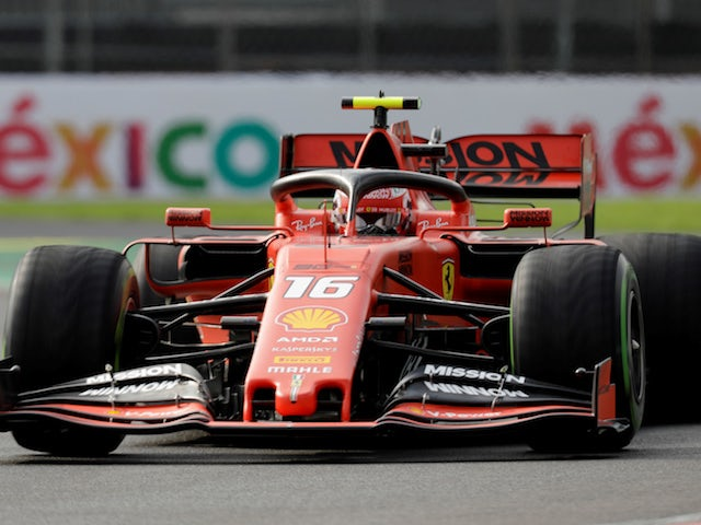 Ferrari take top two positions in final practice for Mexico Grand Prix
