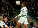 Christopher Jullien scores the winner for Celtic on October 24, 2019