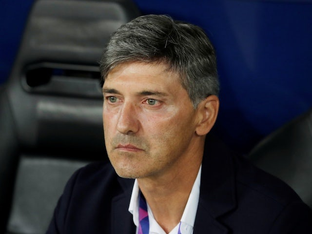Felice Mazzu pictured in charge of Genk in September 2019