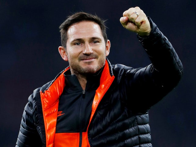 Chelsea manager Frank Lampard on October 23, 2019