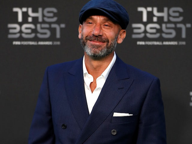 Former Chelsea striker Gianluca Vialli given all-clear from pancreatic cancer