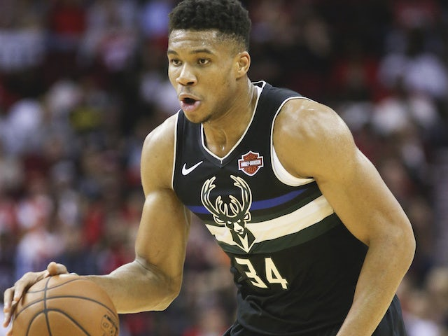 Result: Giannis Antetokounmpo starts season with triple-double as Bucks see off Rockets