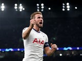 Tottenham Hotspur's Harry Kane celebrates scoring their fifth goal on October 22, 2019