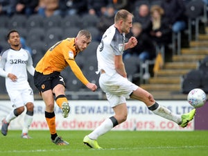 Jarrod Bowen brace sees Hull past Derby County