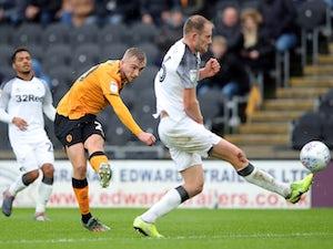 Jarrod Bowen brace sees Hull past Derby County