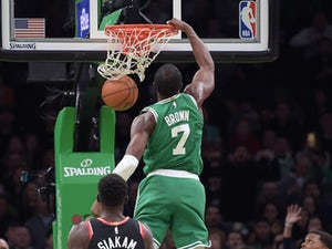 Jaylen Brown scores 25 as Celtics defeat champions Toronto