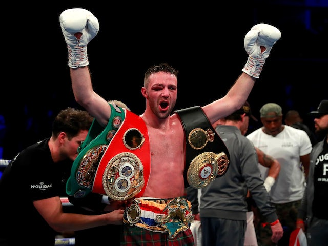 Result: Josh Taylor unifies world title by beating Regis Prograis