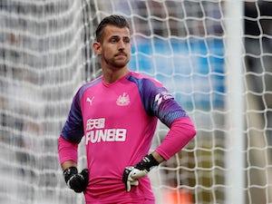 Martin Dubravka in action for Newcastle United on September 21, 2019