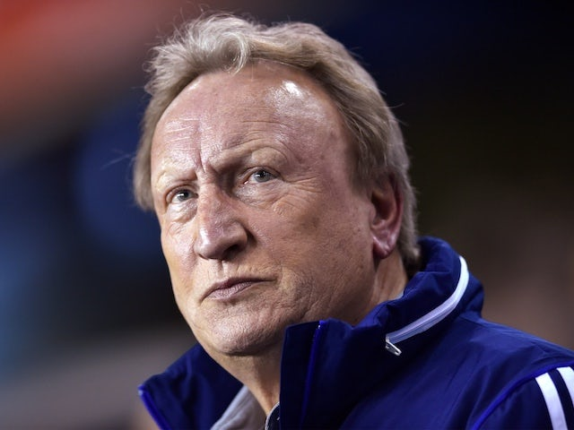 Neil Warnock angry with