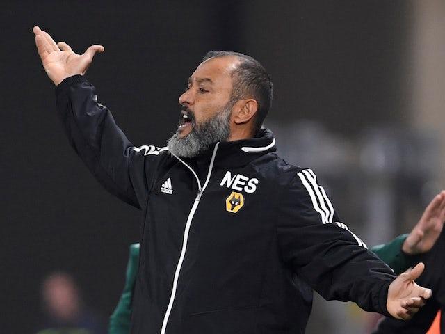 Wolves boss Nuno Espirito Santo on October 24, 2019