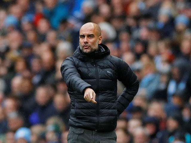 Man City manager Pep Guardiola on October 26, 2019