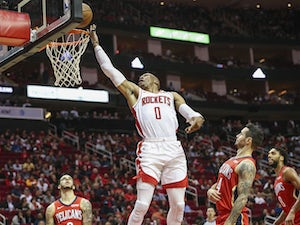 Russell Westbrook's triple-double leads Houston Rockets to victory