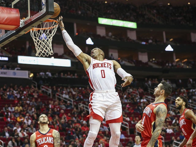 Result: Russell Westbrook's triple-double leads Houston Rockets to victory
