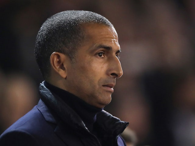 Nottingham Forest boss Sabri Lamouchi on October 23, 2019
