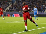 Sadio Mane adds gloss to the scoreline during the Champions League game between Genk and Liverpool on October 23, 2019