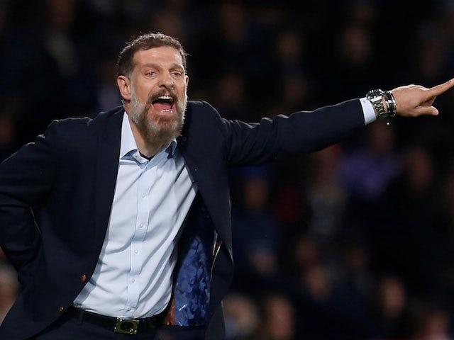 Slaven Bilic pictured in charge of West Bromwich Albion on October 22, 2019