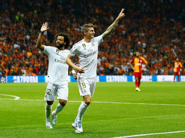 Result Toni Kroos Sees Real Madrid Past Galatasaray In Istanbul