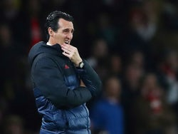 Arsenal manager Unai Emery on October 24, 2019