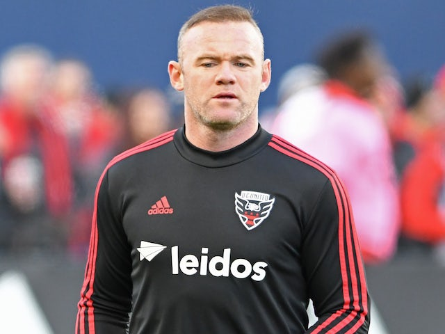 Wayne Rooney in action for DC United on October 19, 2019