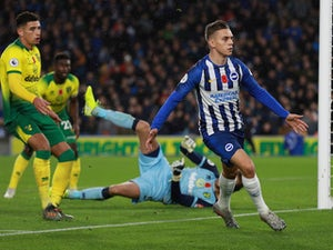 Brighton beat struggling Norwich to continue winning run