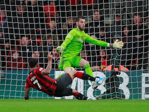 King nets as Bournemouth overcome Man United