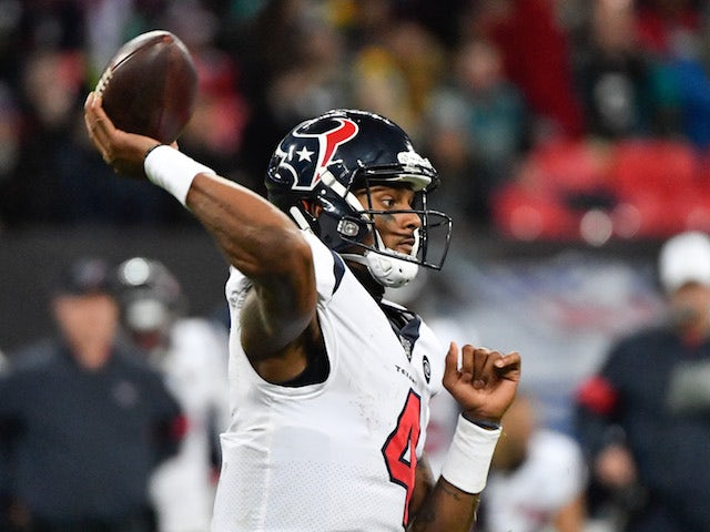 Result: DeShaun Watson leads Houston Texans to victory at Wembley