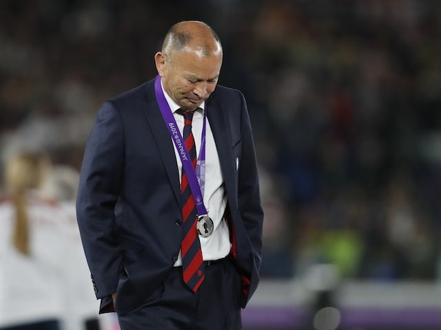 Eddie Jones admits mistake in not changing England team for World Cup final