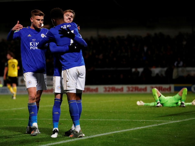 Result: Leicester survive Burton scare to reach EFL Cup quarter-finals