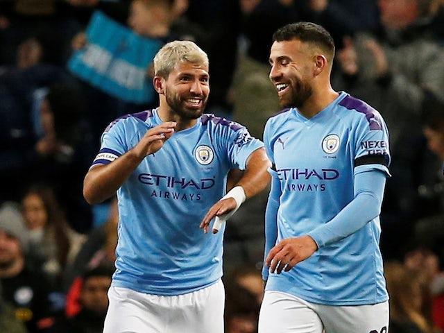 Result: Sergio Aguero brace helps Manchester City into EFL Cup quarters