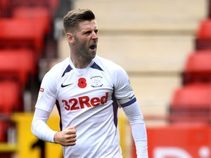 Paul Gallagher fires Preston top of Championship
