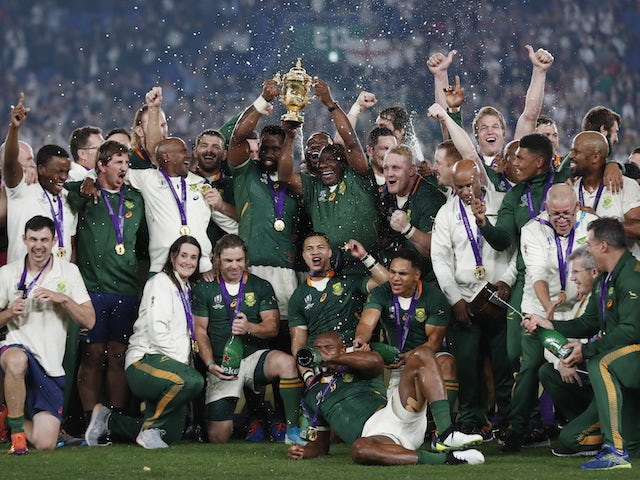 Result: South Africa outclass England to win Rugby World Cup